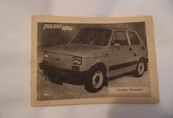Régii retro Kezelési Útmutató - Polski Fiat 126p