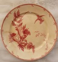 Francia Gien fajansz tányér
