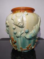 Komlós testvérek ritka art deco váza