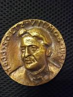 Soltz Vilmos - Bányászati egyesület bronz érem