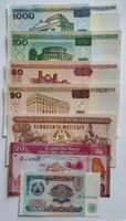 Világ pénzei bankjegyek. II.