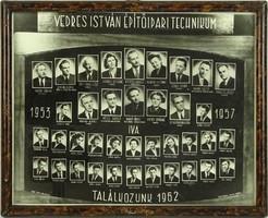 0L910 Régi SZEGEDI VEDRES tablókép 1953-57