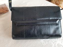 Vintage gyíkbőr táska
