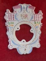 Porcelán számlap schwarzwaldi falióra szerkezethez