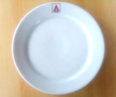 Alföldi lapos tányér GÁZMŰVEK logóval _ retro