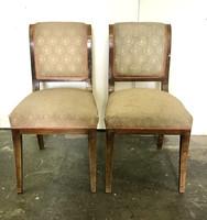 Késői bieder szék párban