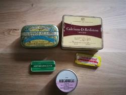 Gyógyszere dobozok