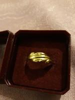 14karátos női gyűrű