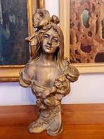 Szecesszios szobor