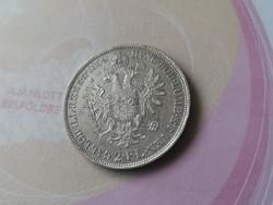 """1859""""B""""ezüst 2 florin Ritka,szép állapot"""