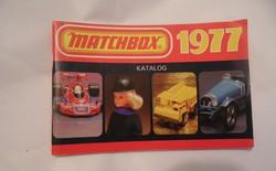 Matchbox katalógus 1977 régi retro játék