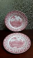 4205- Angol Ironstone Staffordshire tányér