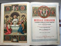 MISSALE ROMANUM 1923.