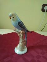 Papagály kerámia figura rendkívül szép festéssel. Magassága 17 cm.