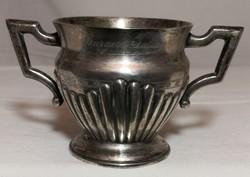 Antik ezüst cukortartó – 12.