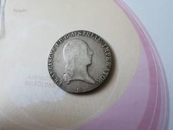 "1823""G"" I.Ferenc tallér 28 gramm 0,8333"