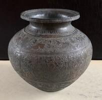 Kínai bronz váza (XIX. századi)