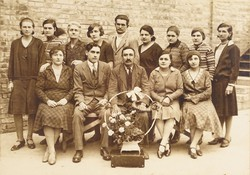 0S302 Régi csoportkép fotográfia 1931