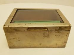 Antik fém dobozka