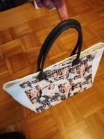 Borse in Pelle valódi bőr olasz táska Marilyn Monroe -s !
