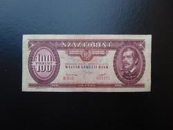 100 forint 1949 B 310 Rákosi címer !!!