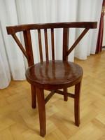Art Deco jellegű fa székek - 6db