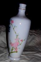 Kínai porcelán italos palack