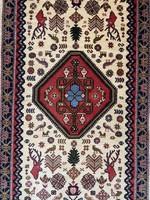 Kézi Csomózású Abadeh Perzsaszőnyeg 200x80
