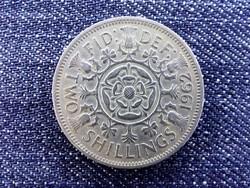 Anglia II. Erzsébet (1952-) 2 Shilling 1962 (id15175)