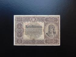 100 korona 1920 A 048
