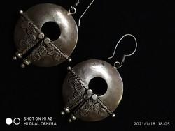 Dél-Ny.i ezüst fülbevaló 925