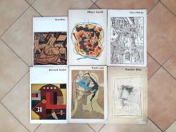 48 db művészeti könyv, monográfia, művészeti album egyben