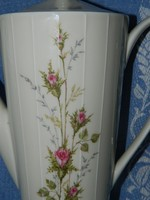 ZEH-SCHERZER gyönyörű rózsás kiöntő, kancsó, kanna