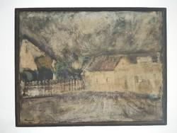 Nagy Ernő (1926-): Utca részlet (1964)