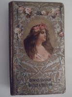 Könyv - 1905 - ALEXANDRE DUMAS - ŐRÜLT TRÓNON 19 x 12 cm - szép állapot
