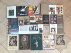 Kb 80 művészeti könyv egyben - vegyes tartalom és állapot