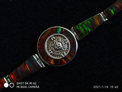 Mexico opal panel karkötő 950