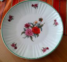 Hollóházi virágos tányér