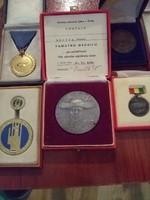 5 db Kitüntetés  Emlék érmék