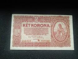 Ropogós 2 Korona 1920 csillagos