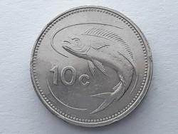 Málta 10 Cent 1998 - Máltai 10 cents külföldi pénzérme eladó
