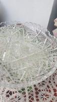 Nagyméretű metszett üveg kibáló