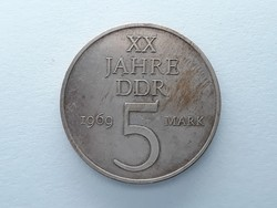 Németország 5 Márka 1969 - Német 5 mark külföldi pénzérme eladó