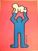 Keith Haring offset litográfia