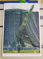 Nehéz német tüzérség az Atlanti-falban, repro