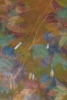 ÁRON ALUL! Illényi Tamara: Keleti virágok c. selyemakvarell (eredeti vietnami selyemre festett)