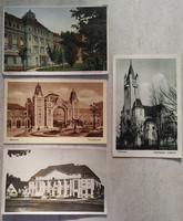 Debrecen 4 db szép régi képeslap egyben
