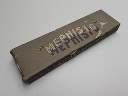 Retro Mephisto ceruzás doboz papírdoboz