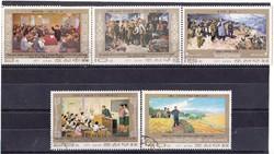 Észak-Korea emlékbélyegek 1977
