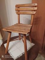 Retró gyerek fa szék